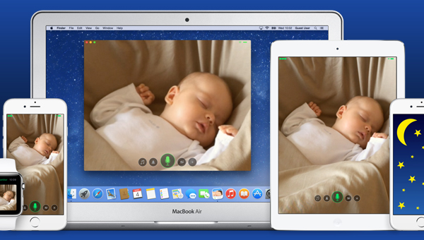 cloud baby monitor app