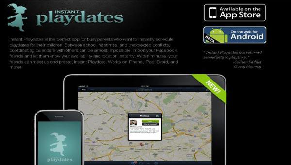 instant playdates app