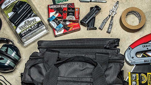 list of essential items to have in your range bag